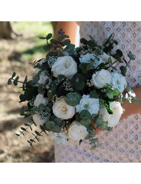 Bouquet fleurs stabilisees stockholm