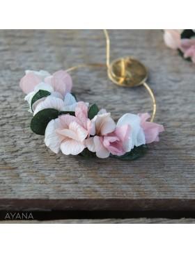 Boucles oreilles en fleurs elyna