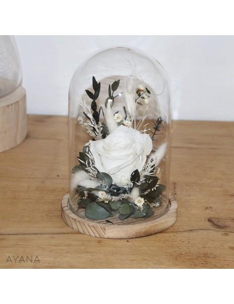 """""""Douceur Champêtre"""" Glass Bell"""