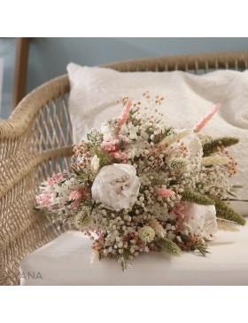 Bouquet Aix fleurs stabilisees