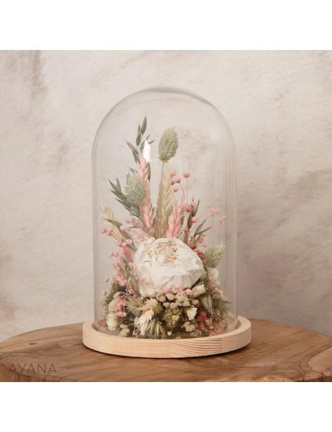 Cloche Aix en Provence en fleurs eternelles