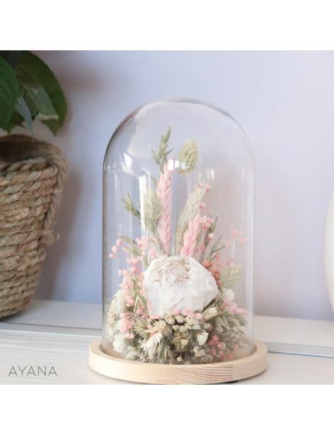 Cloche Aix en fleurs eternelles
