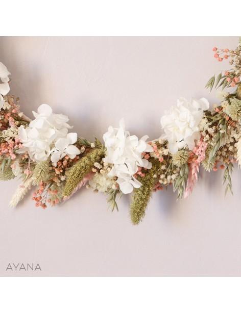 Couronne Aix en fleurs eternelles