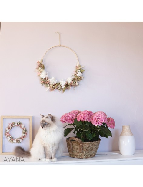 """Spring Pink"" Wall Crown"