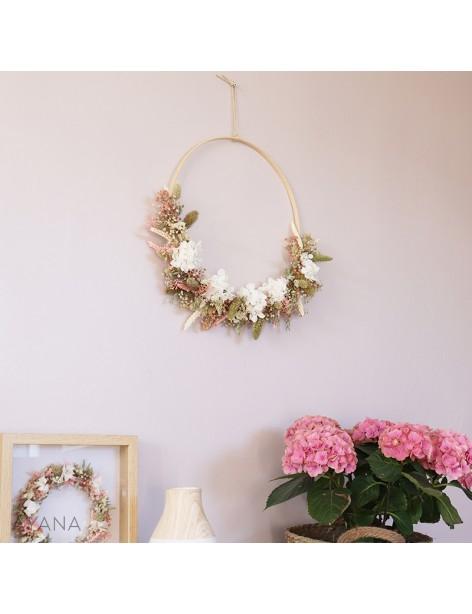 Couronne Aix en Provence en fleurs eternelles