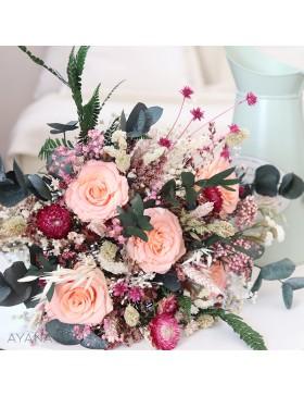 Bouquet Aubagne en fleurs stabilisees
