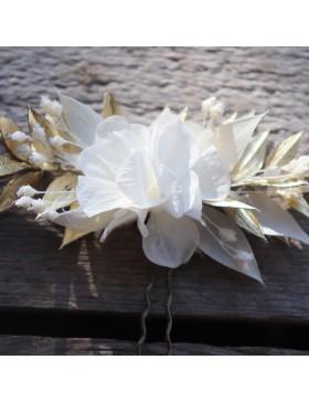 Epingle Gwenaelle en fleurs