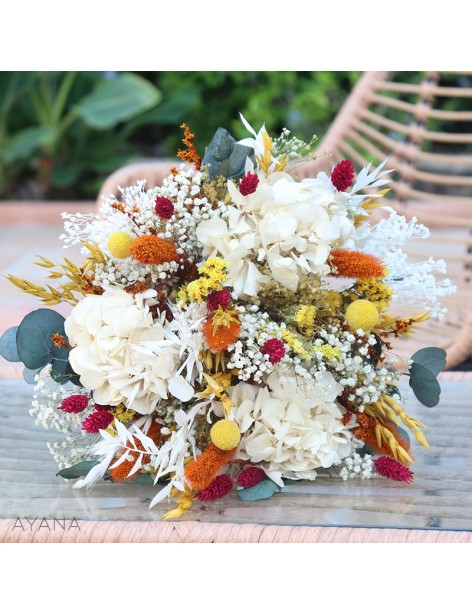 Bouquet Menton en fleurs eternelles