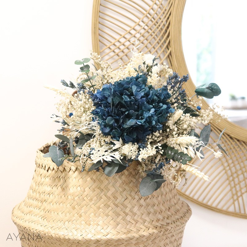 Bouquet Saint Malo fleurs stabilisees