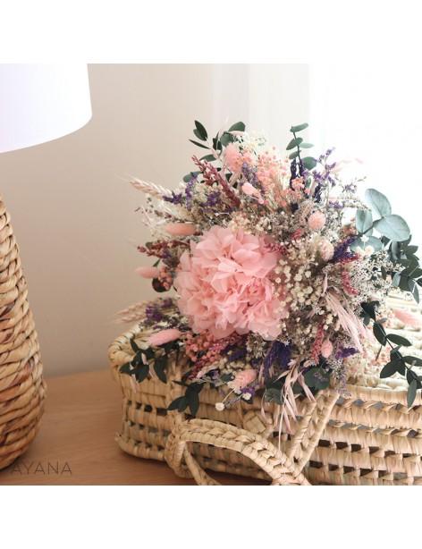 Bouquet Toulouse en fleurs stabilisees