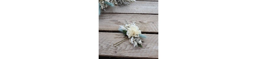 Peaks and hairpins - Preserved and dried flowers - AYANA Floral Design