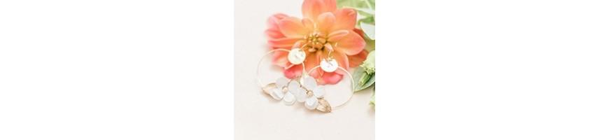 Bijoux de mariage - Fleurs stabilisées et séchées - AYANA Floral Design