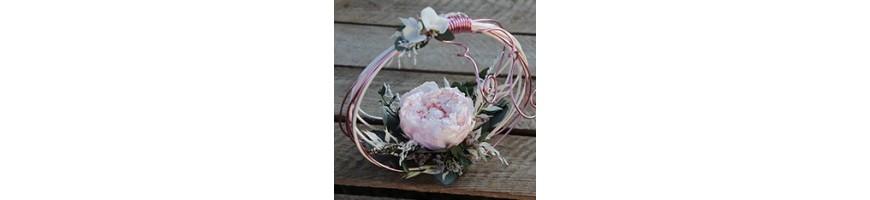 Accessoires mariage - Fleurs stabilisées et séchées - AYANA Floral Design