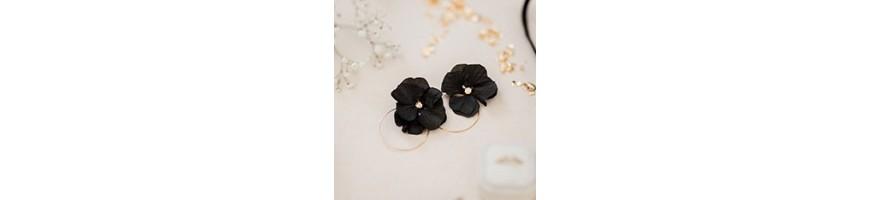 Boucles d'oreilles mariage - AYANA Floral Design