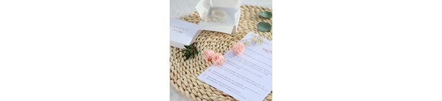 Creative wedding kits - Preserved and dried flowers - AYANA Floral Design